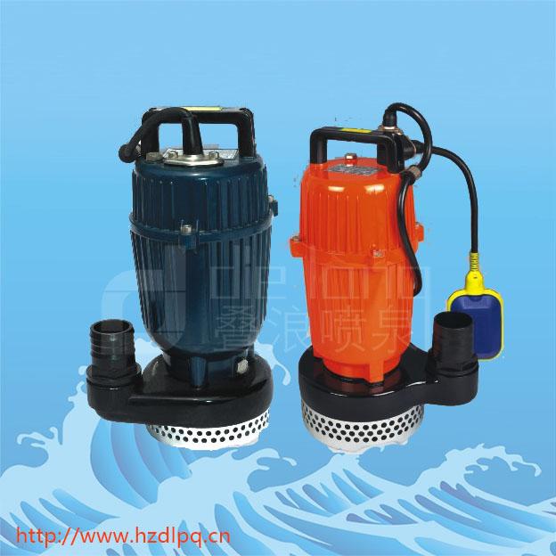 轴承支承的充水式潜水泵结构简单